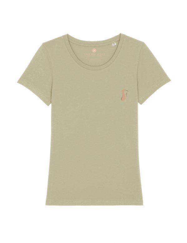 Body t-shirt | zacht groen